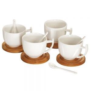 סט ארבעה ספלי קפה