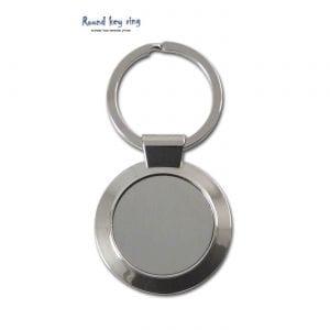 מחזיק מפתחות עגול ממתכת