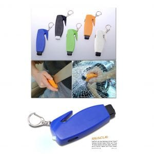 מחזיק מפתחות קליקר לשבירת זכוכית