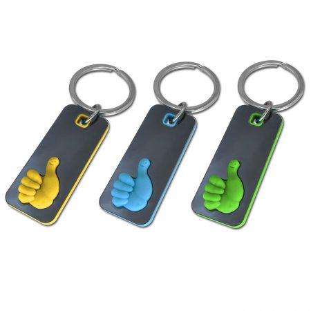 מחזיק מפתחות לייק בצבעים