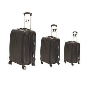 סט מזוודות טרולי