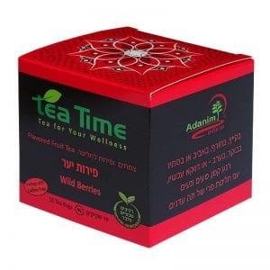 חליטת תה - פירות יער Tea Time