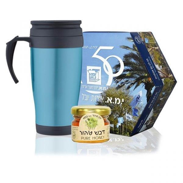 טעימה כחול לבן - מארז תה בעיצוב אישי