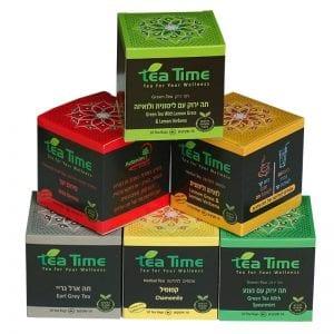 מארז 6 חליטות תה עדנים Tea Time
