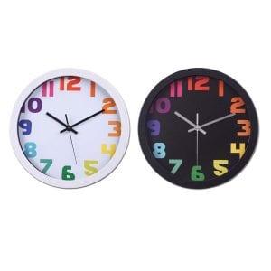 שעון קיר גדול למשרד בעיצוב מדליק