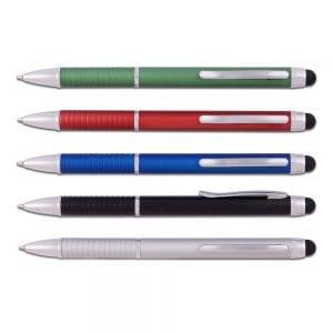 עט כדורי דגם טנדו מפלסטיק במגוון צבעים