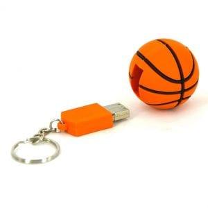 דיסק און קי בצורת כדורסל עם מיתוג