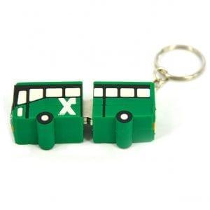 דיסק און קי בצורת אוטובוס אגד ממותג