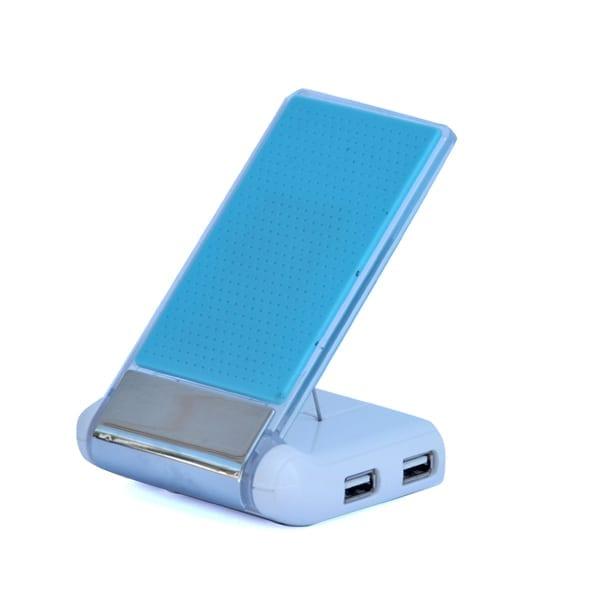 עמדת טעינה וסנכרון לסמארטפון עם יציאות USB