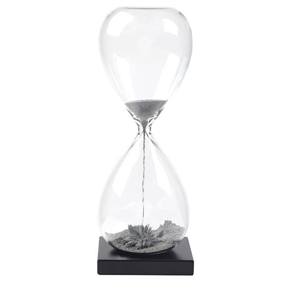 שעון חול משרדי עם כספית