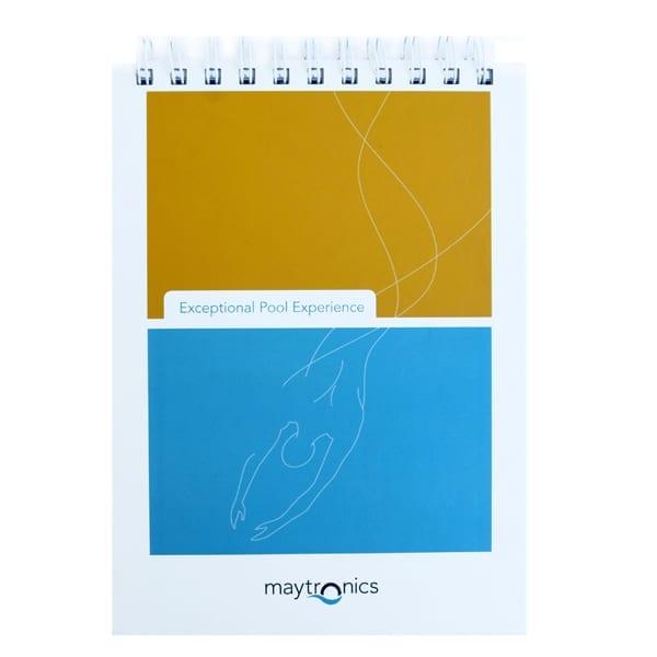 לוח שנה ממותג עם ספירלה
