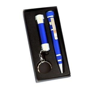 מברג עט ופנס מחזיק מפתחות