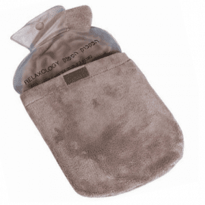 בקבוק חם עם כרית ג'ל