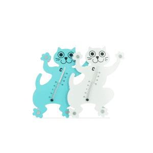 מד חום חתול לחדר ילדים